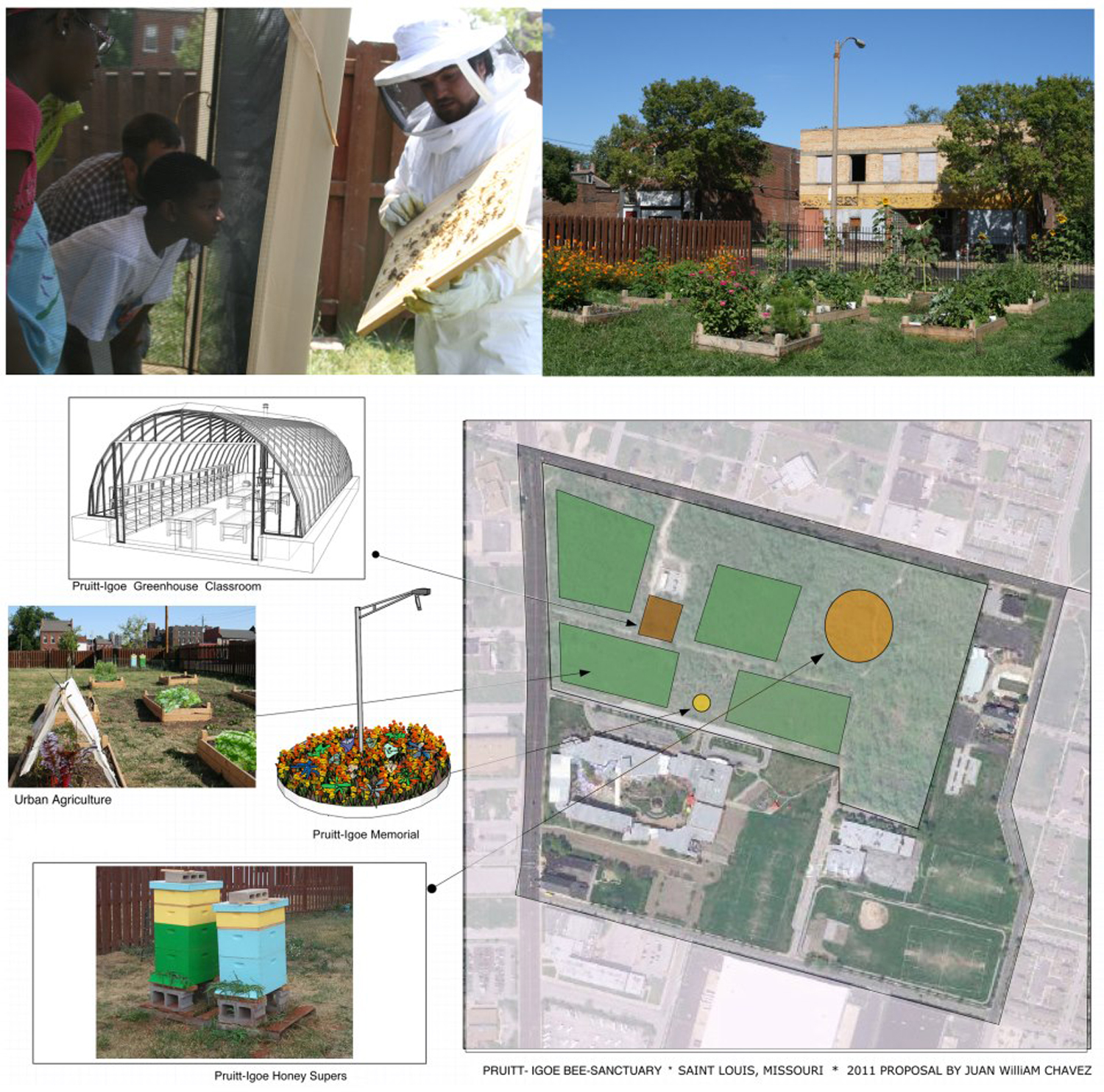 Living Proposal: Pruitt-Igoe Bee Sanctuary Pilot Project